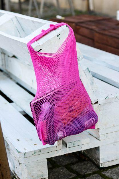 siatka wielorazowa applebag retro Pink Pantera