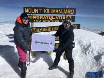 marka applebag na Kilimanjaro Magda i Wojtek